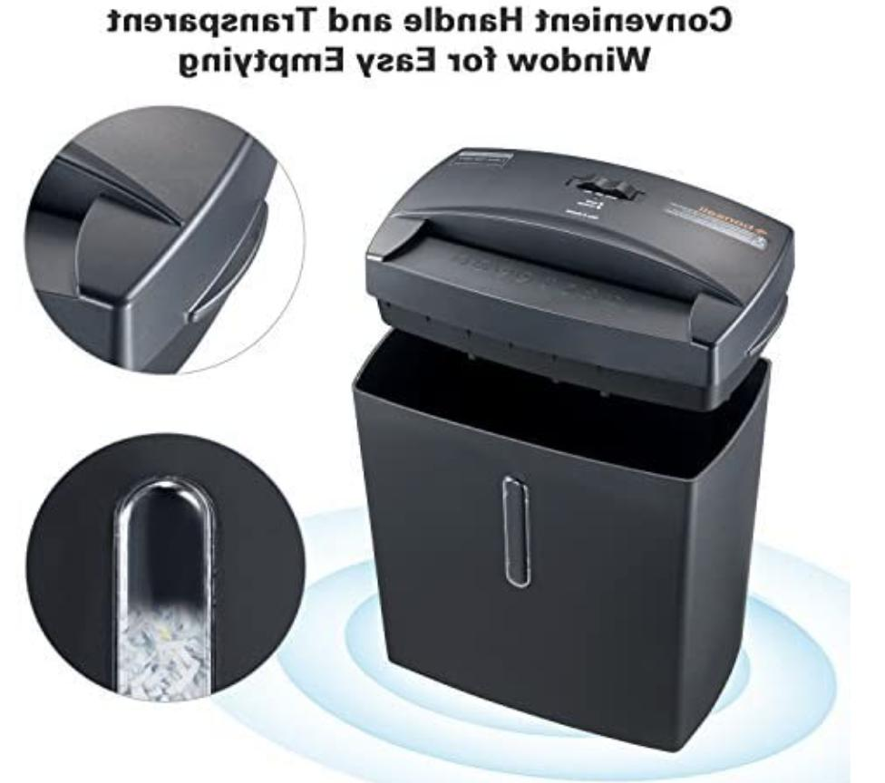 Bonsaii Security Paper Shredder