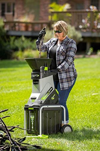 Earthwise GS70015 15 Amp Electric Garden Collect, Bin