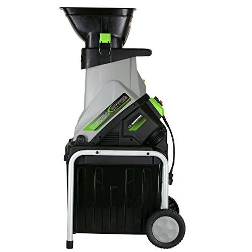 Earthwise GS70015 Amp Electric Chipper/Shredder with