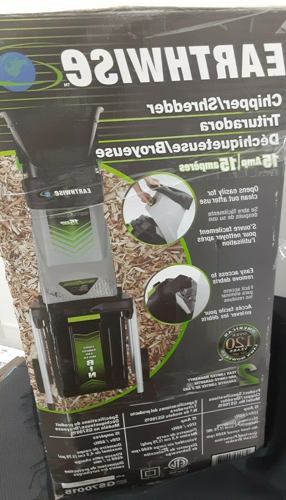 electric garden chipper shredder