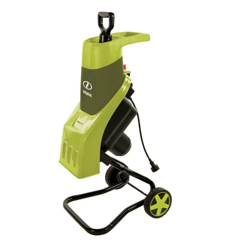 electric garden leaf shredder chipper