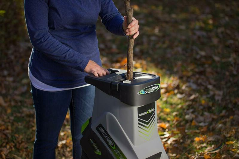 Electric Yard Garden Branch Stick Leaf Chipper Shredder