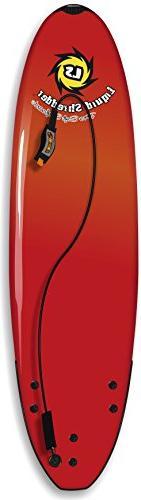 Liquid Shredder Element Softsurfboard, Red, 5-Feet 8-Inch