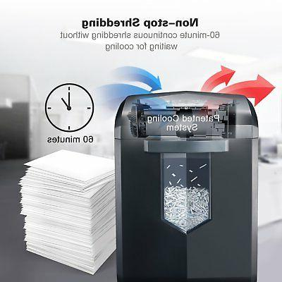Bonsaii EverShred High-Security Micro-Cut Minutes