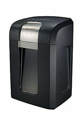 Bonsaii 18-Sheet Cross-Cut Duty Shredder with Running Time, 7.9 Pullout Wastebasket 4 Casters,