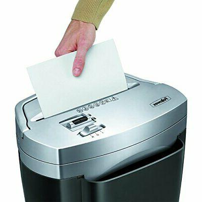 Cross-cut Paper and Credit Card Shredder