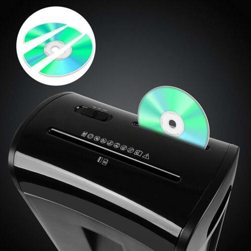 Zoomyo Shredder Shreds Sheets Paper; CDs, DVDs