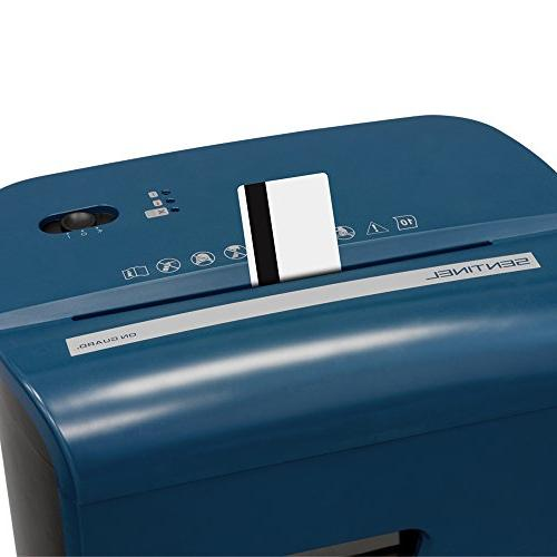 Sentinel High Security Paper/Credit Shredder 3.5 Pullout Waste