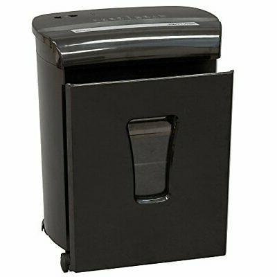 FM101P-BLK Sheet Security Micro-Cut Paper/Credit Shredder Black