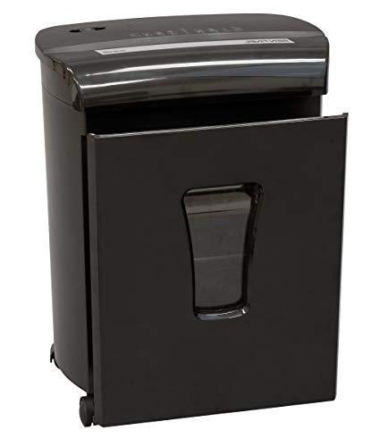 Sentinel FM121P-BLK Security Micro Credit Card Shredder with Waste Bin Shredder
