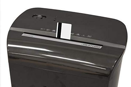 Sentinel FM121P-BLK Security Cut Credit Card Shredder Waste Shredder