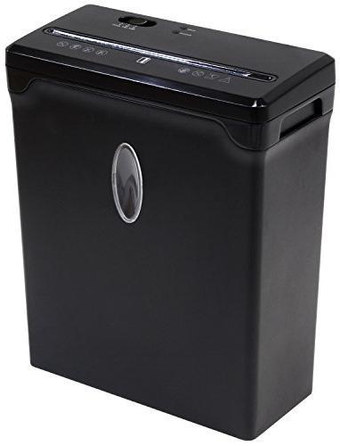 Sentinel FX61B 6-Sheet High Security Shredder Waste Basket Shredder