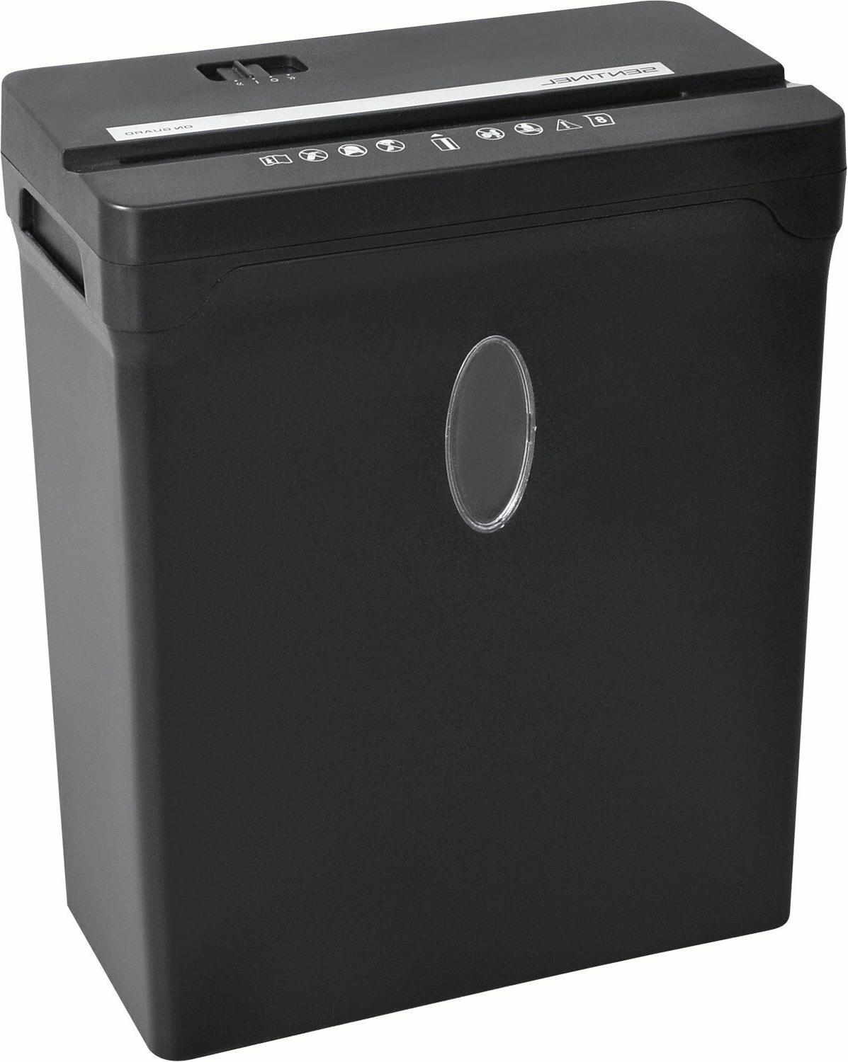 Sentinel Security Cross-Cut Paper/Credit Shredder