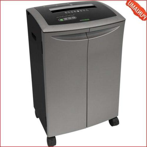 GoECOlife GXC200TiB 20 Sheet Cross-Cut Paper Shredder, Plati