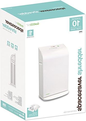 GOECOLIFE GXW100D Cross-Cut Paper Shredder, Limited Edition
