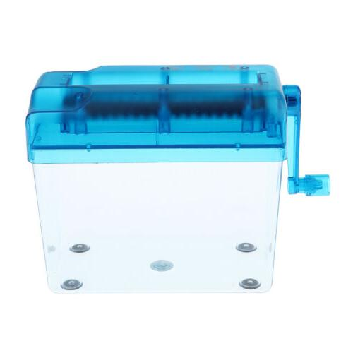 Hand Paper Shredder A6 Paper Documents Cutting Tools Machine