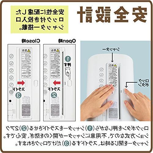 Kokuyo maximum cut five white AMKPS-X80W