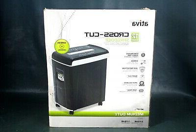 Ativa® Md1250 12-sheet Cross-cut Shredder