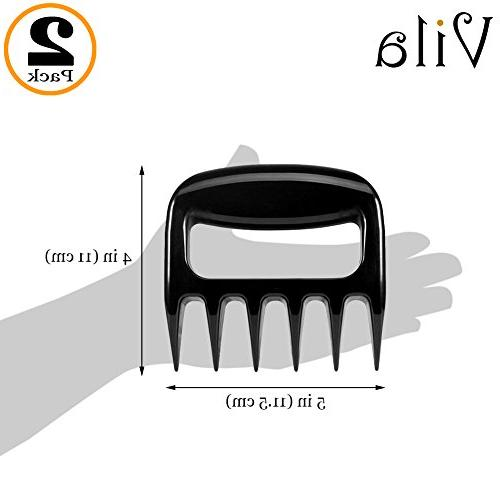 2 Claws and Cut BBQ Favorite - up to 500 Degree – With Ultra-Sharp – 100% Food-Safe
