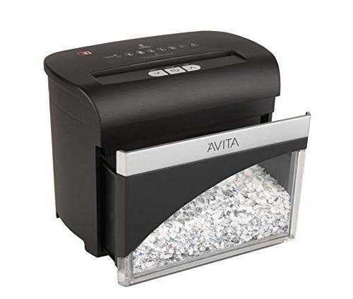 Ativa 8 Micro-Cut Desktop Shredder,