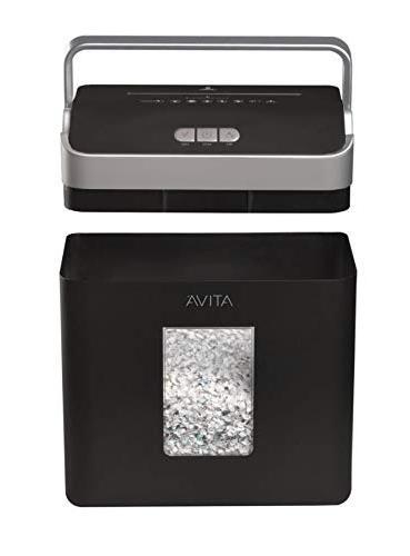 Ativa 8 Sheet Micro-Cut Lift-Off Shredder Handle, OMM83B