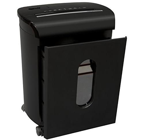 Sentinel FM104P-BLK Microcut Paper Shredder