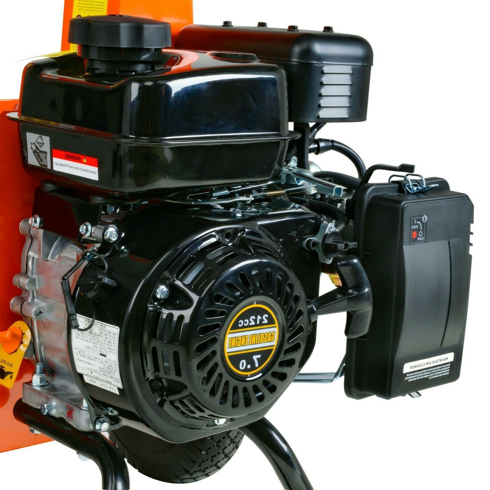 """Mini Wood Shredder Mulcher Ultra HP Gas Powered 3"""" Inch"""