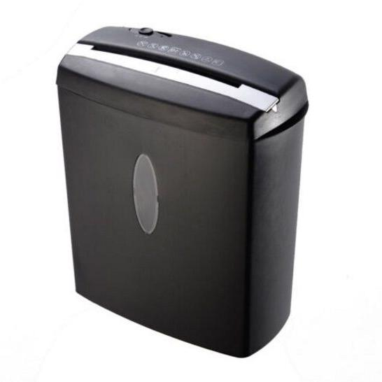 New Cross-Cut Paper Shredder Basket For Office