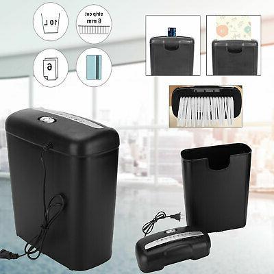 new commercial home office paper shredder strip