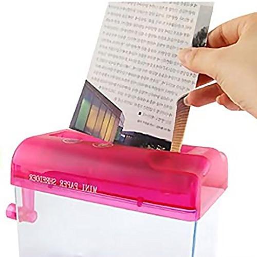 Home Office Manual Type Shredder Shredder Cut
