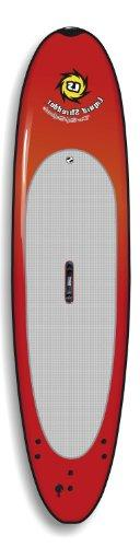Liquid Shredder Paddleboard Softboard, Red, 12-Feet