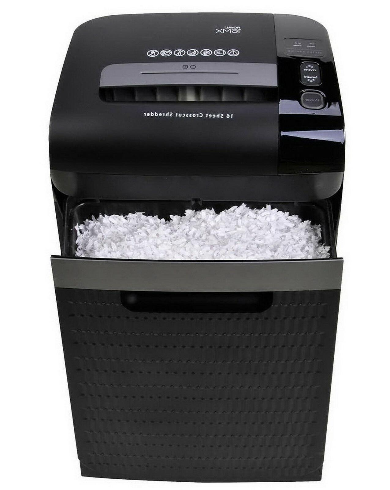 New Paper Shredder Big Gallon Duty Crosscut