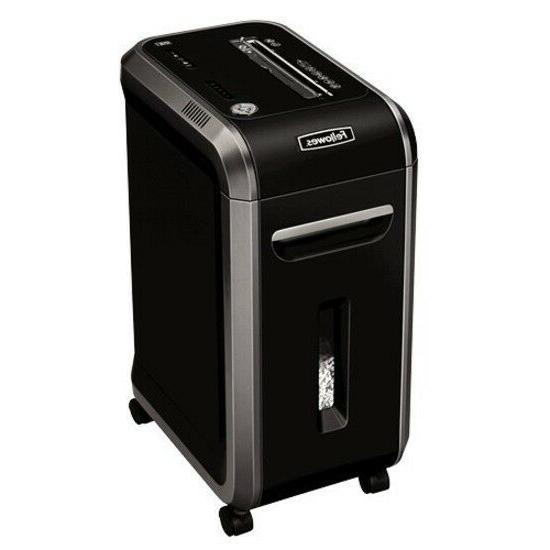 paper shredder machine black heavy duty large