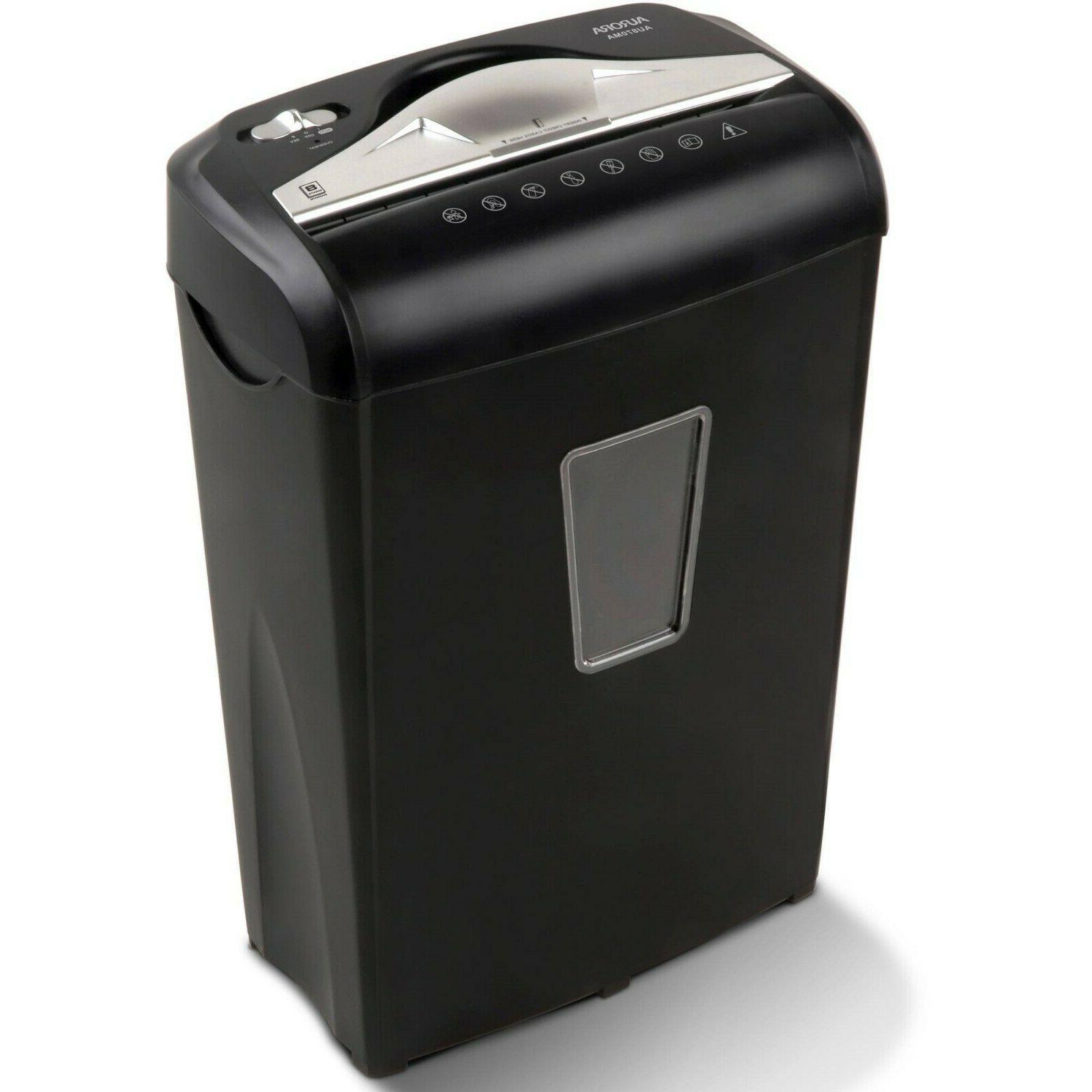 paper shredder micro cut electric credit card