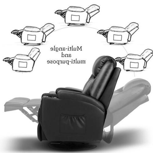 Vibration Sofa Lounge Black