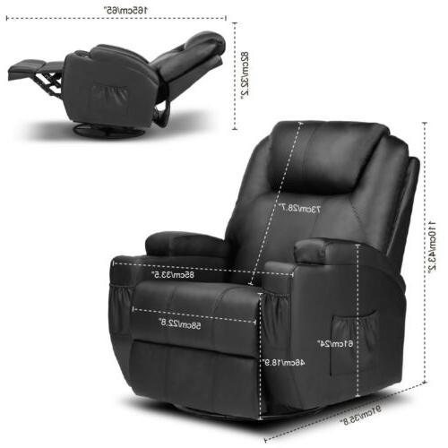 Massage Vibration Single Lounge