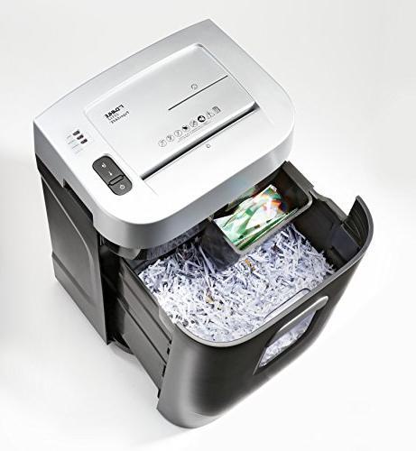 Dahle PaperSAFE Shredder, Security P-4, Sheet Shreds Credit & Clips