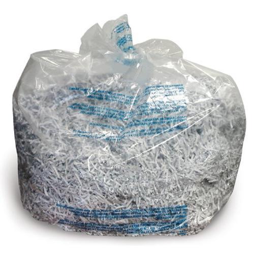 poly shredder bags