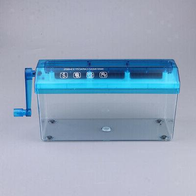 Portable Mini Shredder Micro Cut Home Supplies