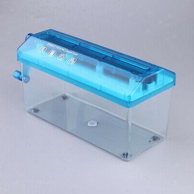 2Portable Mini Micro Shredder Home Supplies