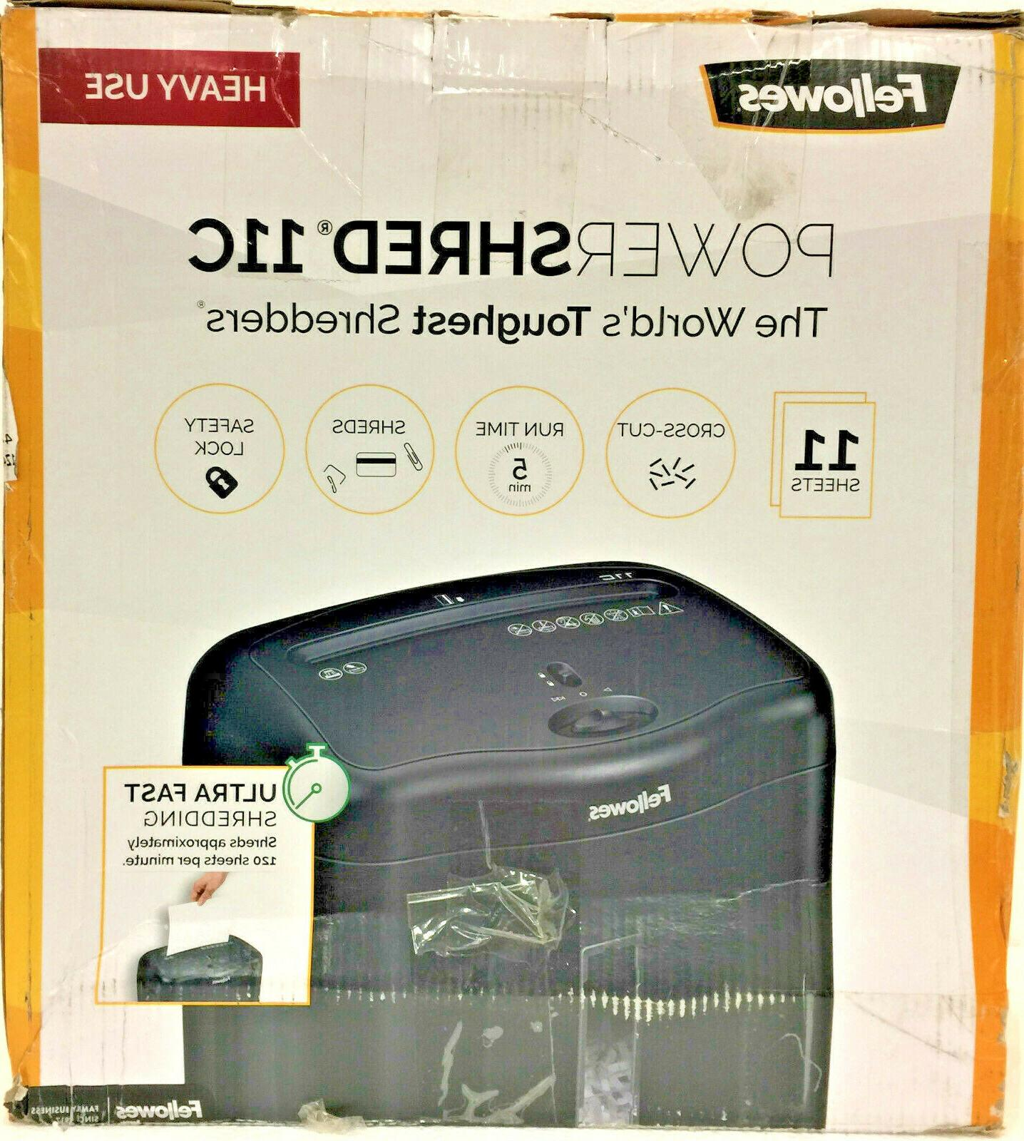 FELLOWES Powershred 11C Crosscut Shredder