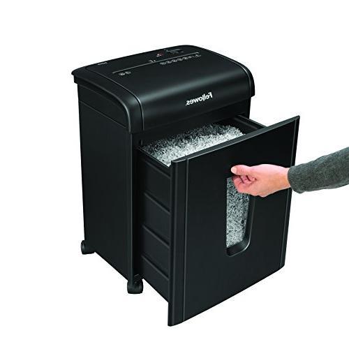 Fellowes 62MC 10-Sheet Micro-Cut Home Shredder Lock for