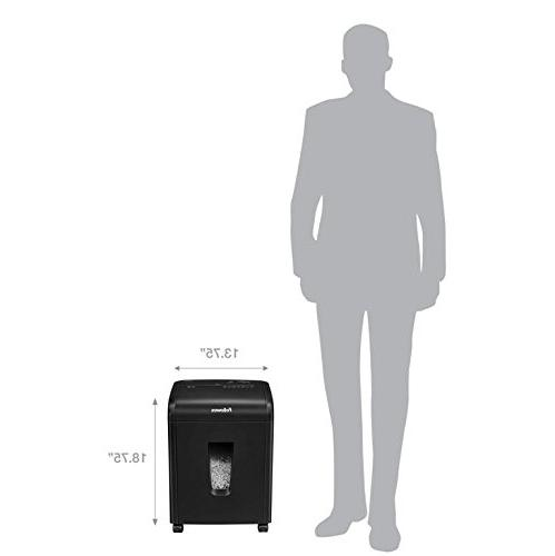 Fellowes 62MC 10-Sheet Micro-Cut Home and Shredder with Safety for