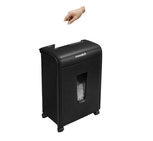 Fellowes Micro-Cut Home Shredder with Safety for Added
