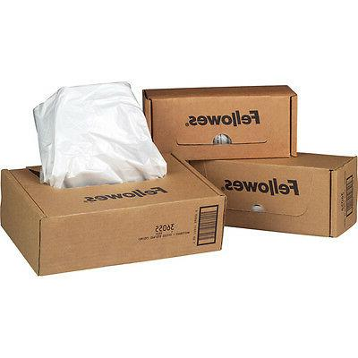 powershred shredder waste bags