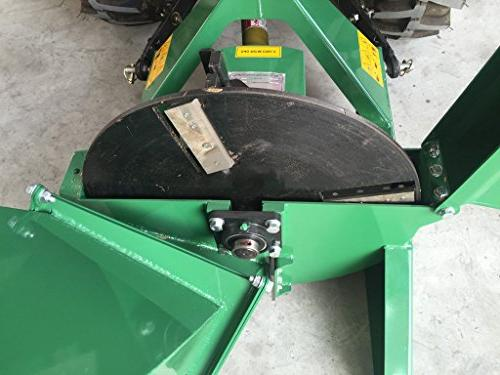 Wood Chipper Tractor PTO Shredder, 18 50HP, x Inch Year Parts Model