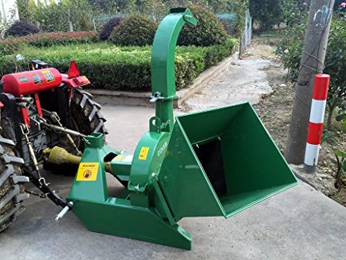 Wood Chipper PTO Leaf Shredder, Tractors to 50HP, 10 Inch Capacity, 1 Year Warranty, Model BX42S
