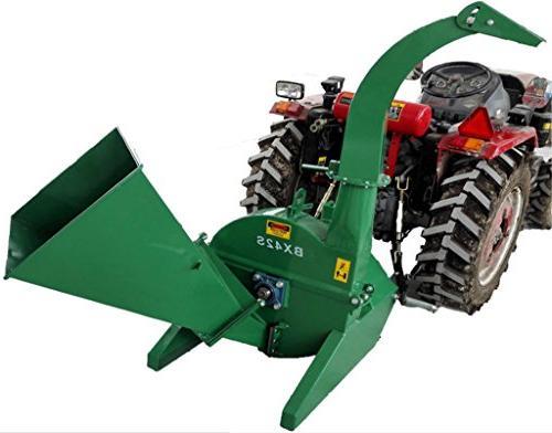 pto tractor wood chipper shredder