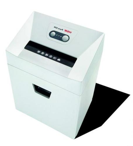 HSM Pure Cross-Cut Shredder; shreds to 9 sheets; 6.6-gallon