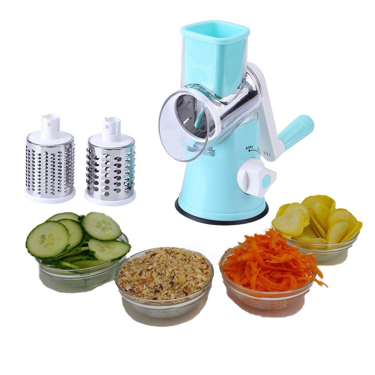 rotary cheese grater hand crank stainless steel